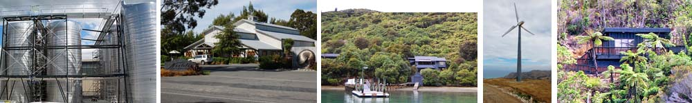 Projects by Davidson Group, Chartered Professional Engineers, Marlborough, New Zealand