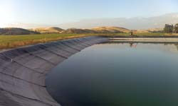 Example of Environmental Engineering Projects, Irrigation Resevoir, Waihopai Valley